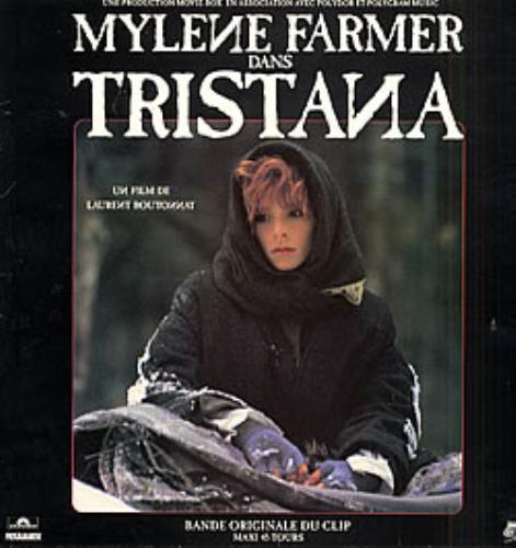 "Mylene Farmer Tristana - Bande Originale Du Clip 12"" vinyl single (12 inch record / Maxi-single) French MYL12TR65734"