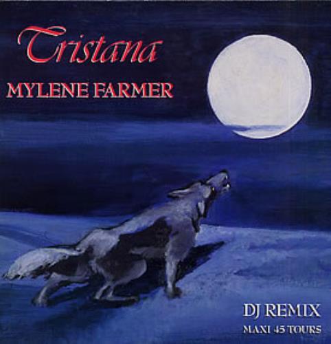 """Mylene Farmer Tristana - DJ Remix 12"""" vinyl single (12 inch record / Maxi-single) French MYL12TR25132"""