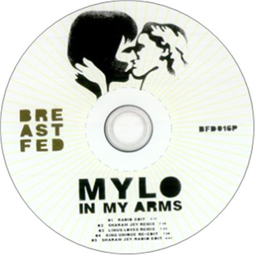 """Mylo In My Arms CD single (CD5 / 5"""") UK MCQC5IN326584"""