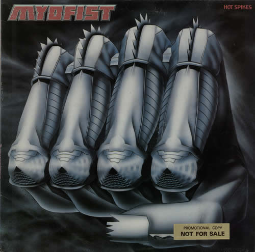 Myofist Hot Spikes vinyl LP album (LP record) UK N7QLPHO637748