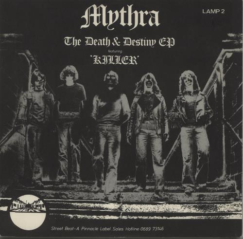 "Mythra The Death And Destiny EP - P/S 12"" vinyl single (12 inch record / Maxi-single) UK MYT12TH672101"