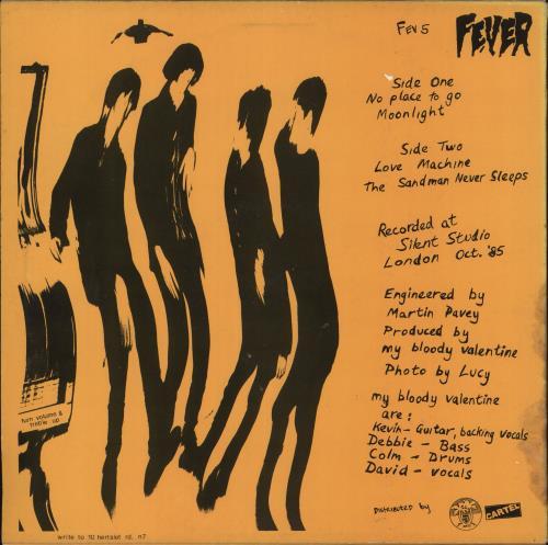 "My Bloody Valentine Geek - VG 12"" vinyl single (12 inch record / Maxi-single) UK MBV12GE728763"