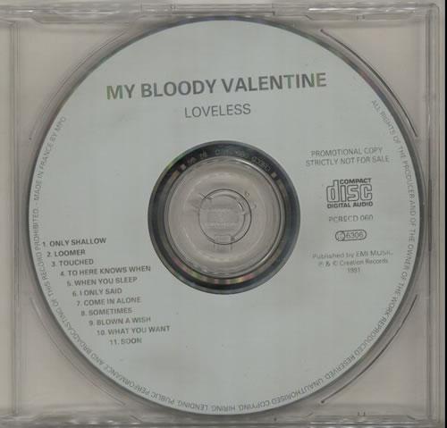 My Bloody Valentine Loveless CD album (CDLP) UK MBVCDLO130468