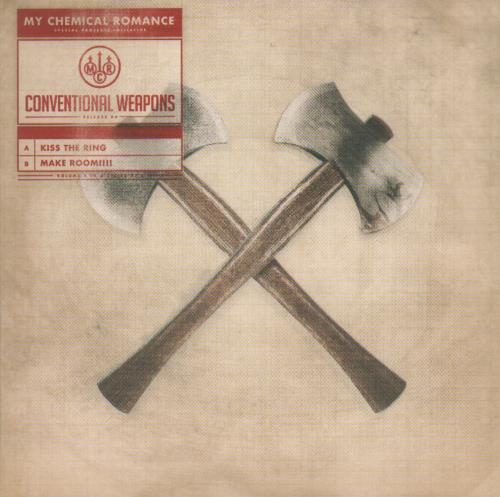 """My Chemical Romance Conventional Weapons Parts 1-5 7"""" vinyl single (7 inch record) UK MAP07CO680312"""