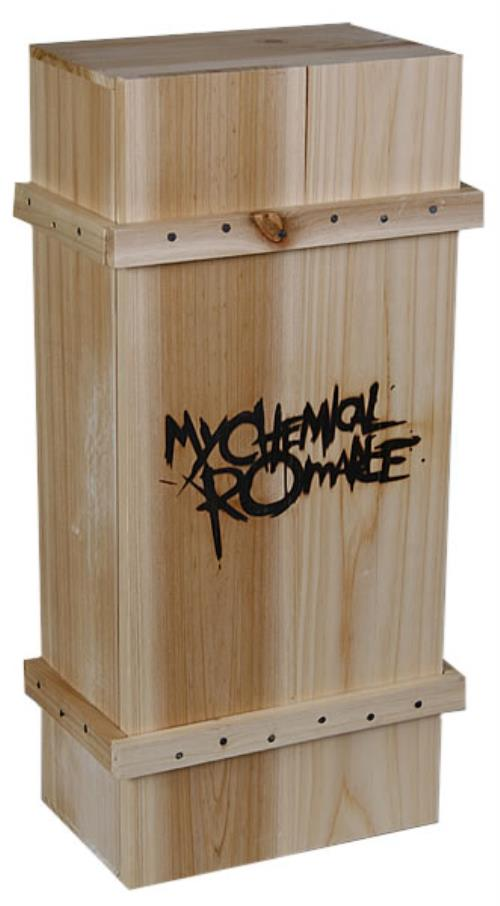 My Chemical Romance The Black Parade Is Dead Coffin Box