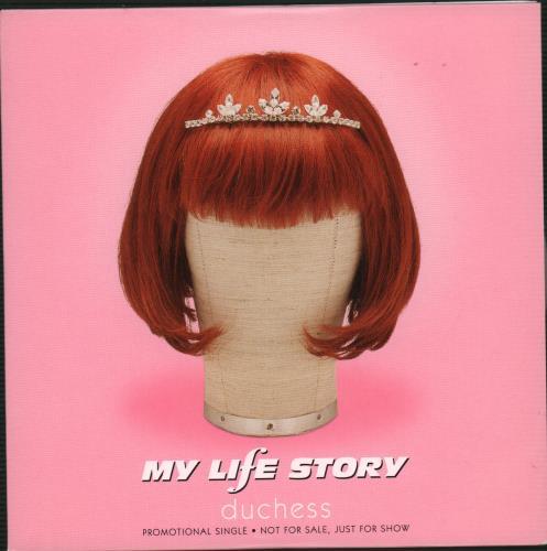 "My Life Story Duchess CD single (CD5 / 5"") UK ORYC5DU90105"