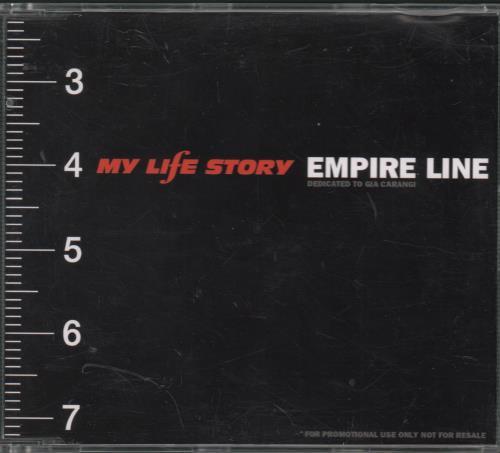 My Life Story Empire Line UK Promo CD single (CD5 / 5