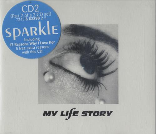 My Life Story Sparkle 2-CD single set (Double CD single) UK ORY2SSP139168