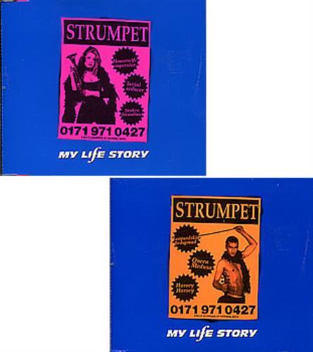 My Life Story Strumpet 2-CD single set (Double CD single) UK ORY2SST247341