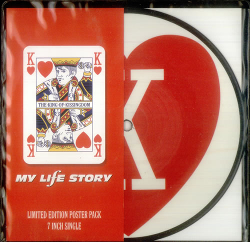 """My Life Story The King Of Kissingdom - Poster Pack 7"""" vinyl picture disc 7 inch picture disc single UK ORY7PTH82332"""