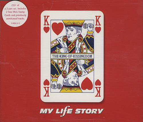 "My Life Story The King Of Kissingdom CD single (CD5 / 5"") UK ORYC5TH176969"