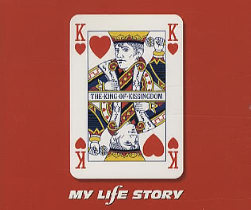 My Life Story The King Of Kissingdom 2-CD single set (Double CD single) UK ORY2STH247336