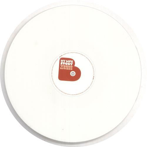My Life Story World Citizen - White Vinyl vinyl LP album (LP record) UK ORYLPWO740804