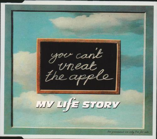 "My Life Story You Can't Uneat The Apple CD single (CD5 / 5"") UK ORYC5YO97108"