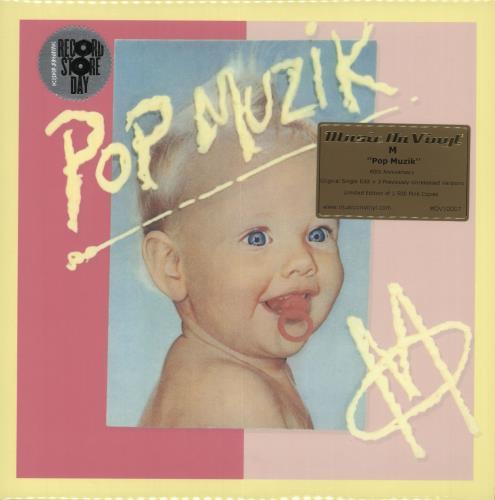 "M Pop Musik - RSD19 - Pink Vinyl - Sealed 10"" vinyl single (10"" record) UK -M-10PO718502"