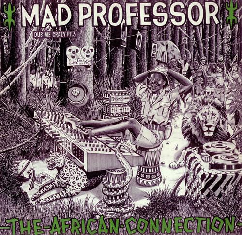 Mad Professor The African Connection - Dub Me Crazy Part 3 vinyl LP album (LP record) UK MDPLPTH441039