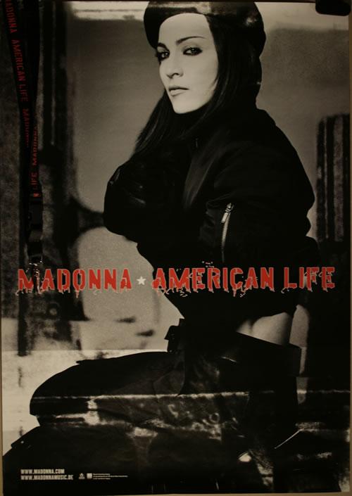 Madonna American Life - Poster + Lanyard poster German MADPOAM554417