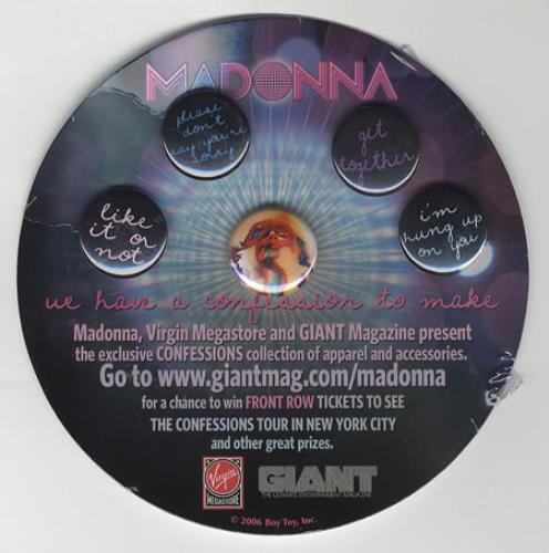 madonna confessions tour poster - photo #29