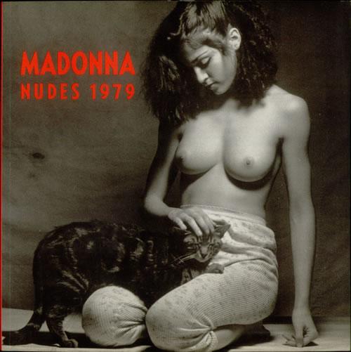 Madonna Nudes 1979 book German MADBKNU05418