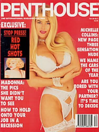 Madonna Penthouse - Madonna Naked magazine French MADMAPE177092