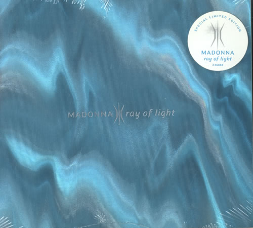 Madonna Ray Of Light - Limited - Promo stickered CD album (CDLP) US MADCDRA111528