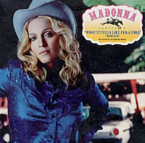 """Madonna What It Feels Like For A Girl - Remixes CD single (CD5 / 5"""") Colombian MADC5WH236243"""