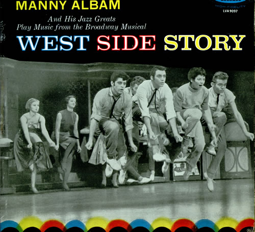 Manny Albam West Side Story vinyl LP album (LP record) UK AL9LPWE512328