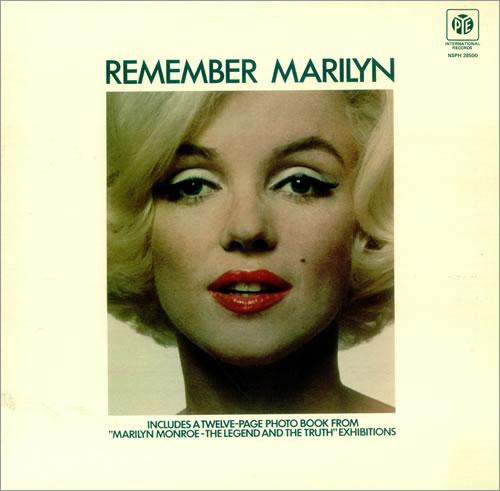 Marilyn Monroe Remember Marilyn vinyl LP album (LP record) UK MLNLPRE456572