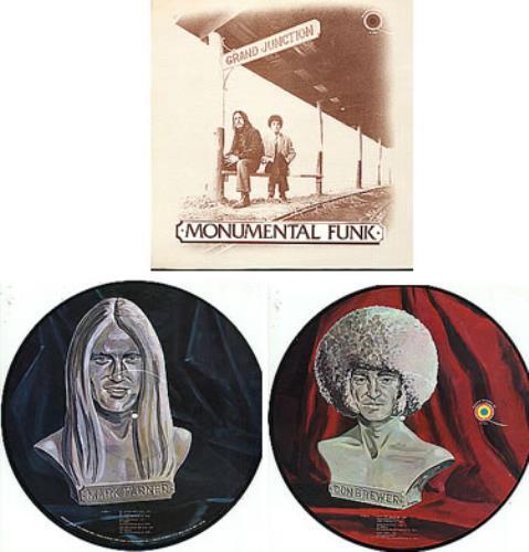 Mark Farner Monumental Funk picture disc LP (vinyl picture disc album) US MKFPDMO262053