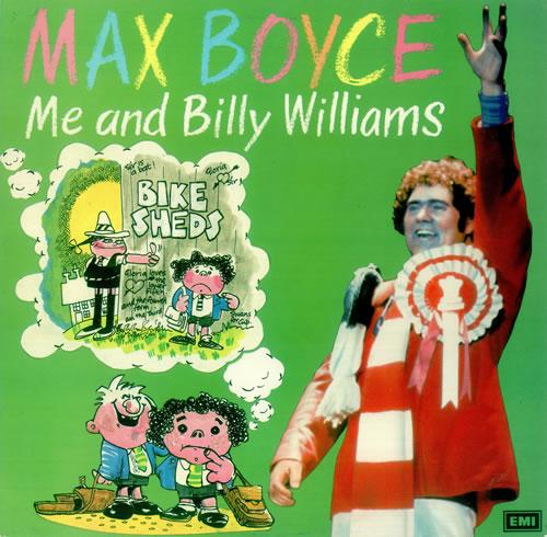 Max Boyce Me And Billy Williams Uk Vinyl Lp Album Lp