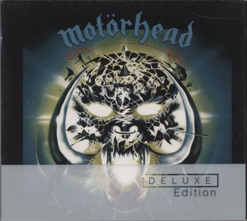 Motorhead Overkill - Deluxe Edition 2 CD album set (Double CD) UK MOT2COV453517