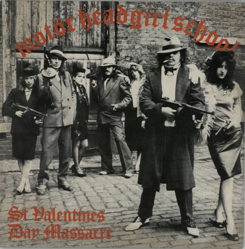 "Motorhead St Valentine's Day Massacre 10"" vinyl single (10"" record) UK MOT10ST33049"
