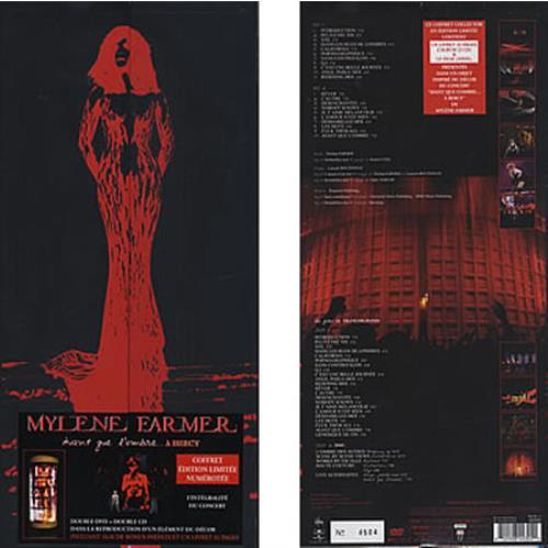 Mylene Farmer Avant Que L'Ombre... A B'ercy 2-disc CD/DVD set French MYL2DAV377558