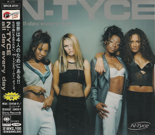 N-Tyce All Day Every Day CD album (CDLP) Japanese NTYCDAL487454