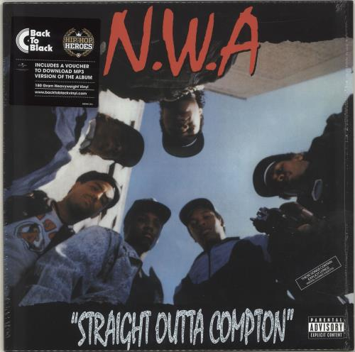 N.W.A. Straight Outta Compton - 180gram vinyl LP album (LP record) UK NWALPST704518