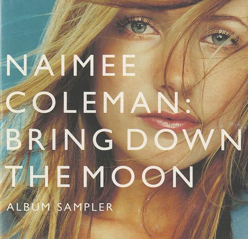 "Naimee Coleman Bring Down The Moon - Album Sampler CD single (CD5 / 5"") UK NAIC5BR497913"
