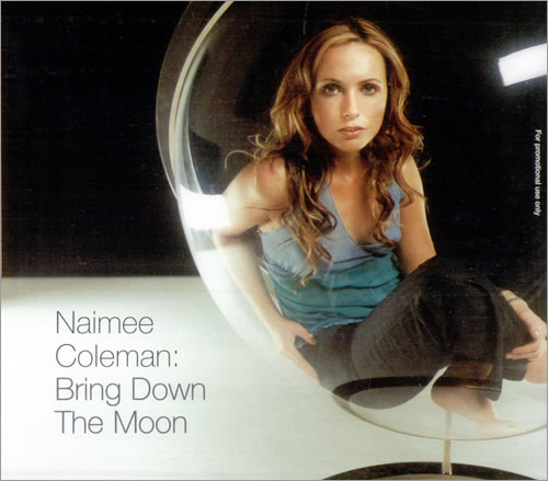 Naimee Coleman Bring Down The Moon CD album (CDLP) UK NAICDBR185751