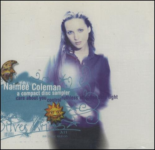 "Naimee Coleman Silver Wrists Album Sampler CD single (CD5 / 5"") UK NAIC5SI197020"
