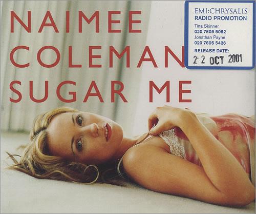 """Naimee Coleman Sugar Me CD single (CD5 / 5"""") UK NAIC5SU496764"""