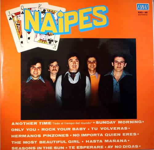 Naipes Naipes vinyl LP album (LP record) Spanish NN5LPNA564822