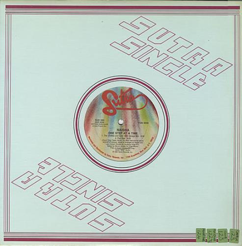 "Naisha One Step At A Time 12"" vinyl single (12 inch record / Maxi-single) Canadian HI812ON394344"