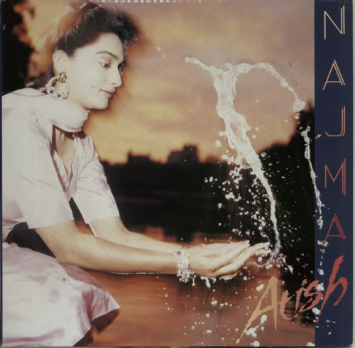 Najma Akhtar Atish vinyl LP album (LP record) UK NJKLPAT622622