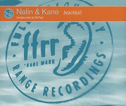 "Nalin & Kane Beachball CD single (CD5 / 5"") UK N&KC5BE394045"