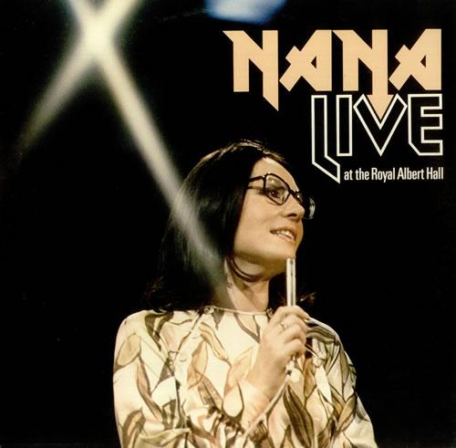 Nana Mouskouri Nana Live At The Royal Albert Hall vinyl LP album (LP record) UK NNMLPNA454874