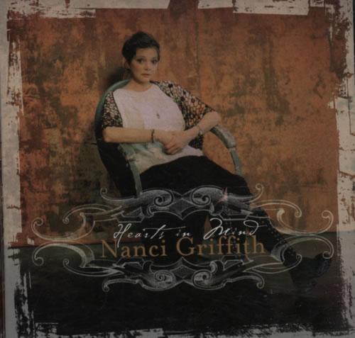 Nanci Griffith Hearts In Mind CD album (CDLP) US NANCDHE605509