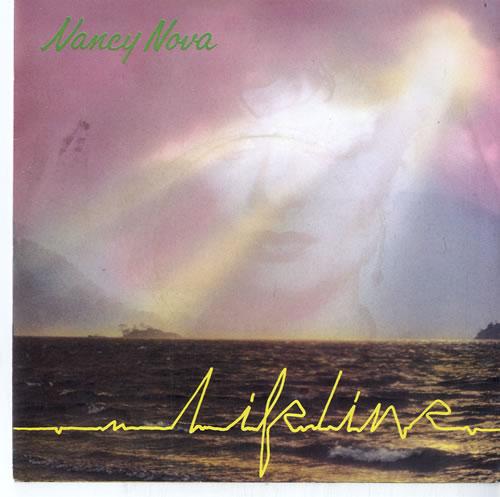 "Nancy Nova Lifeline 7"" vinyl single (7 inch record) UK N2Y07LI615039"