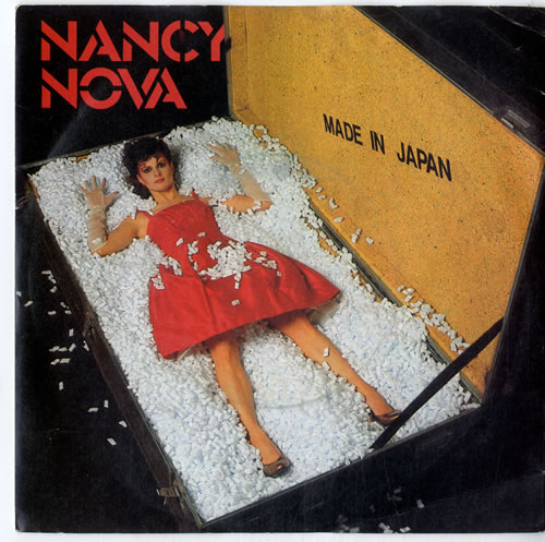 "Nancy Nova Made In Japan 7"" vinyl single (7 inch record) UK N2Y07MA615042"