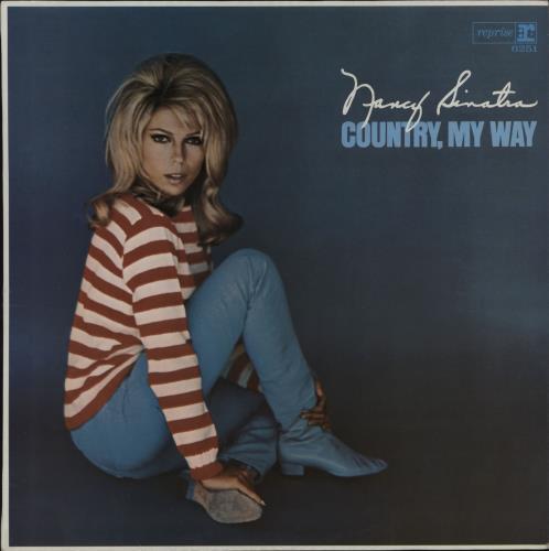 Nancy Sinatra Country, My Way vinyl LP album (LP record) UK NYSLPCO119654