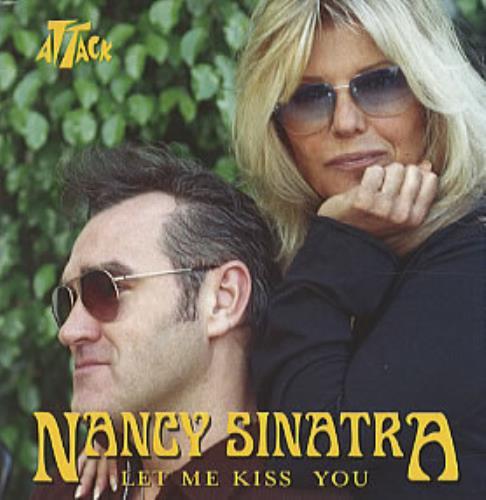 "Nancy Sinatra Let Me Kiss You CD single (CD5 / 5"") US NYSC5LE307829"