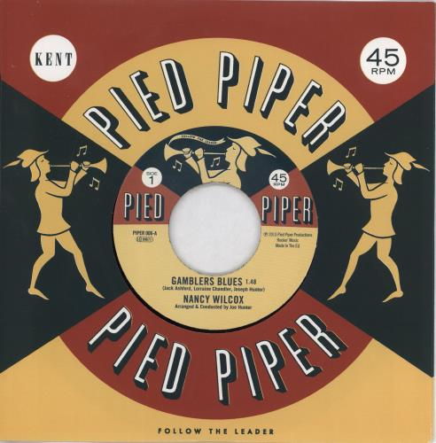 "Nancy Wilcox Gamblers Blues / I Hear Music 7"" vinyl single (7 inch record) UK 3C007GA766741"